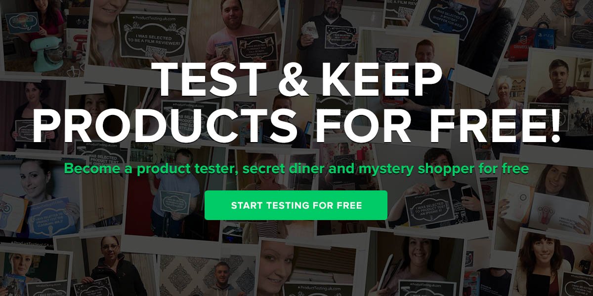 How to sign up for product testing