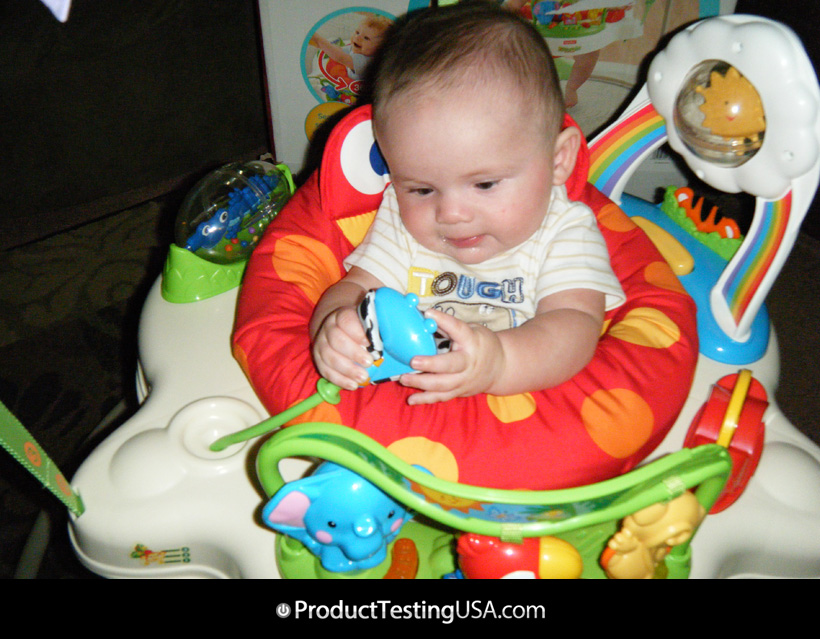 27187f126 Fisher Price Rainforest Jumperoo Review