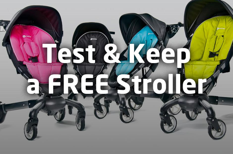 How You Can Get A Free 4moms Origami Stroller