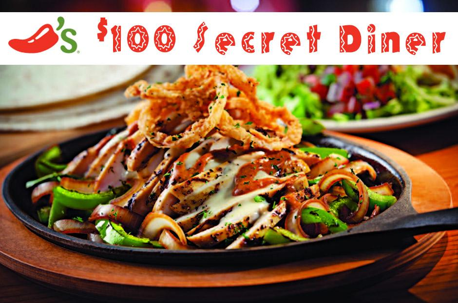 secret diner chilis coupon