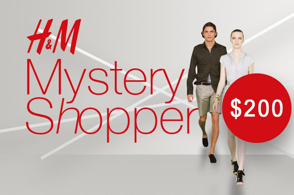 hm mystery shopper