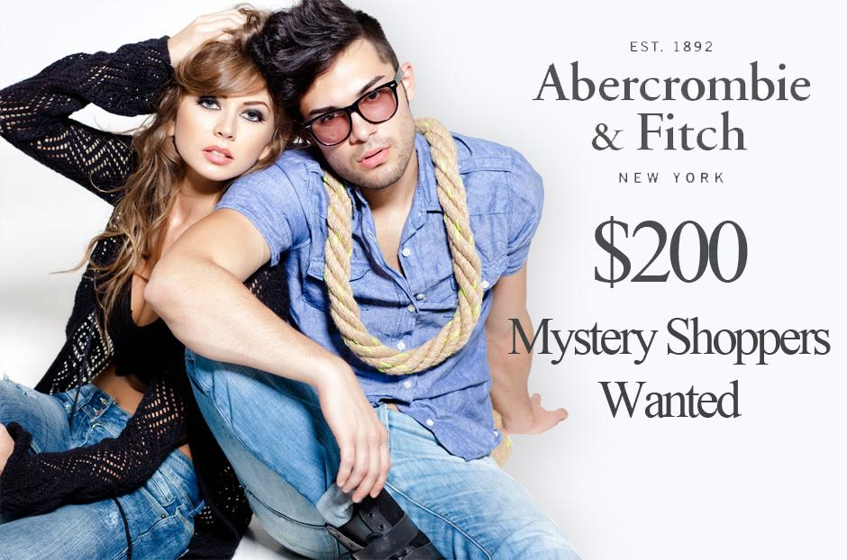 abercrombie and fitch mystery shopper