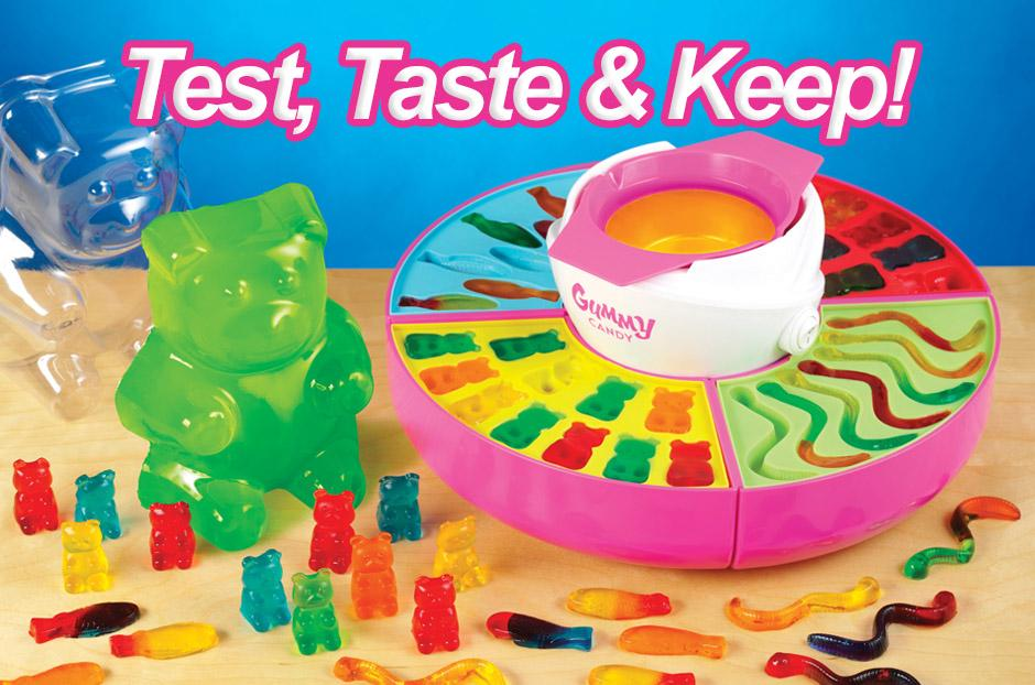 free gummy candy maker