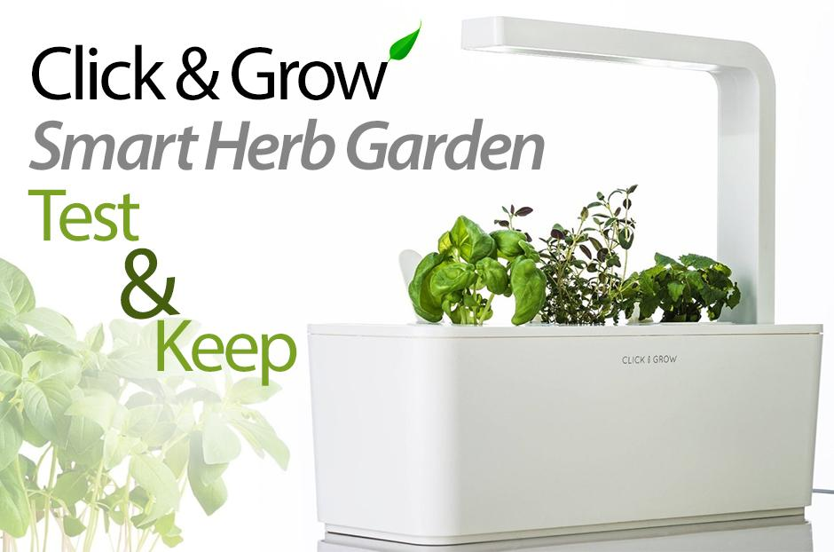 free smart garden click and grow kit