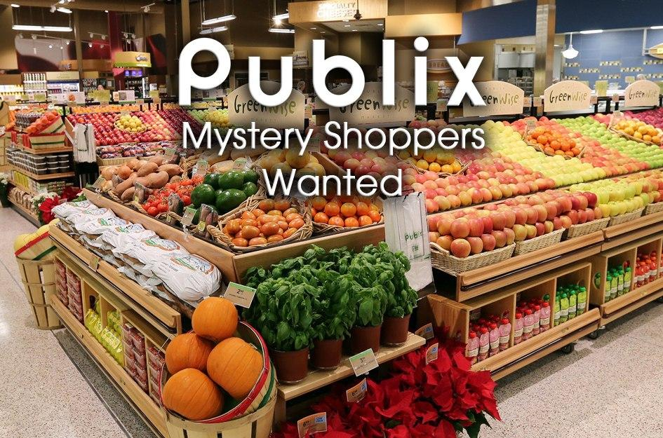 Be a Publix Secret Shopper with a Free $100