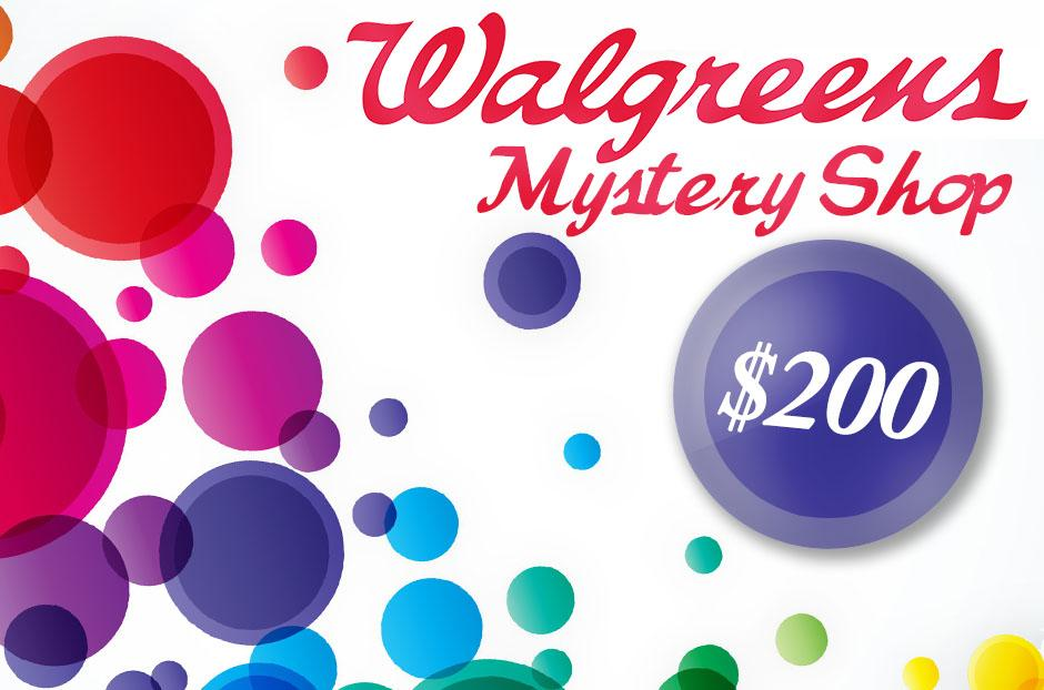 walgreens mystery shopper