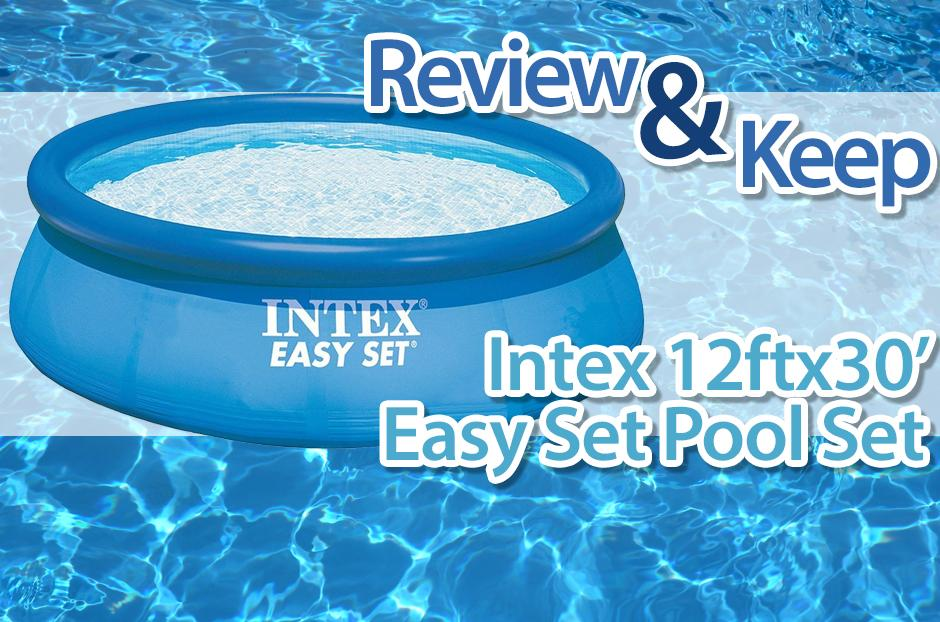free intex pool set