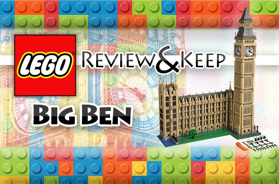 free big ben lego set