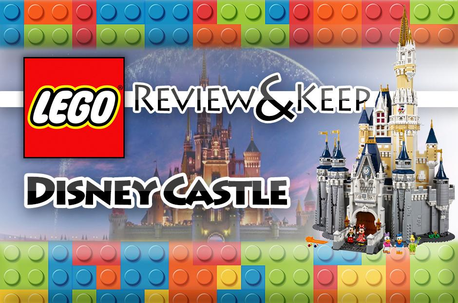free disney castle lego set