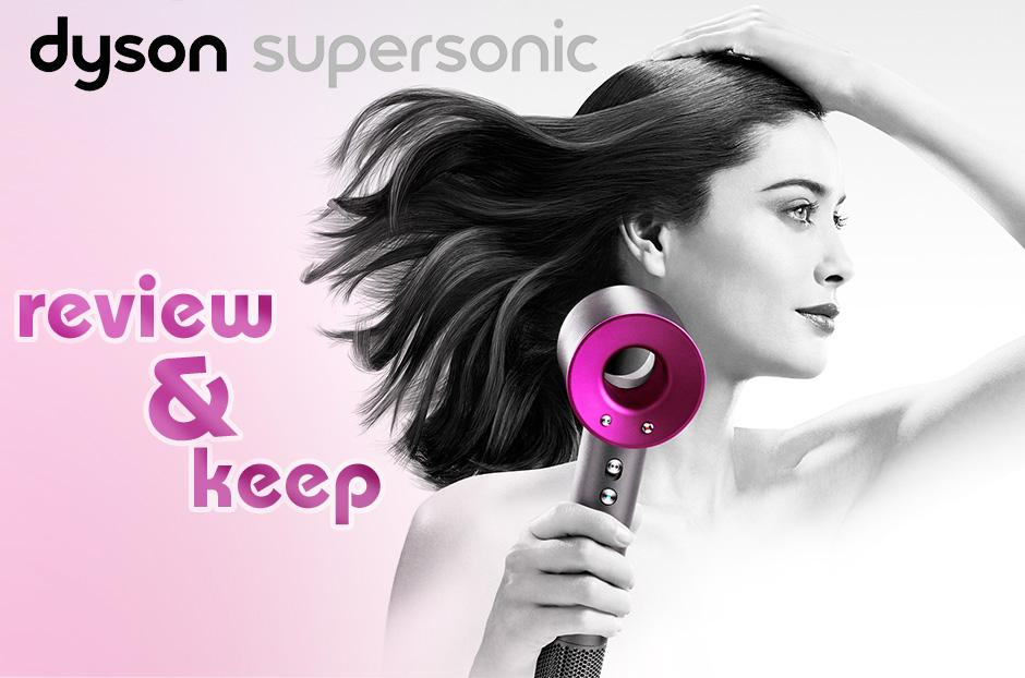 free dyson supersonic hairdryer