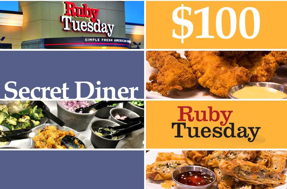 free ruby tuesday voucher