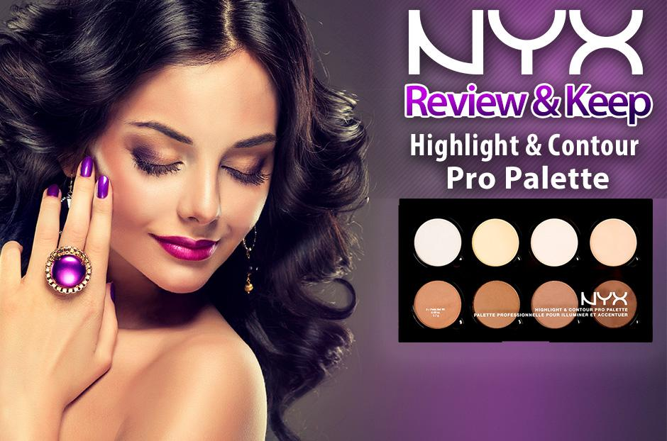 free nyx highlight contour pro palette