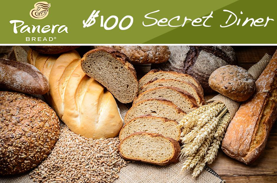 free panera bread secret diner