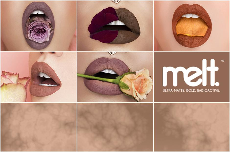 Free Melt Cosmetics Prime Rose Collection