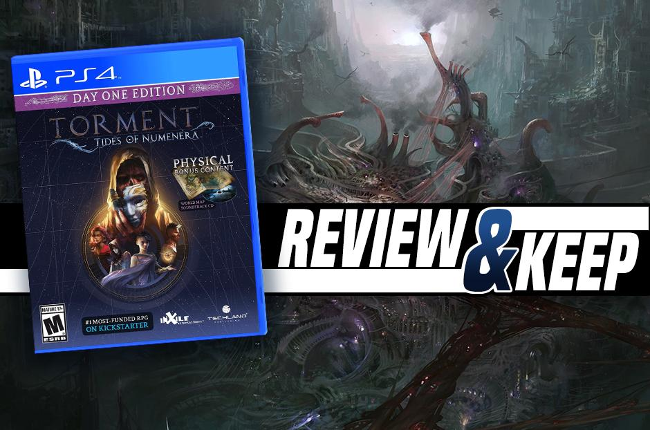 Torment: Tides Of Numenera for PS4