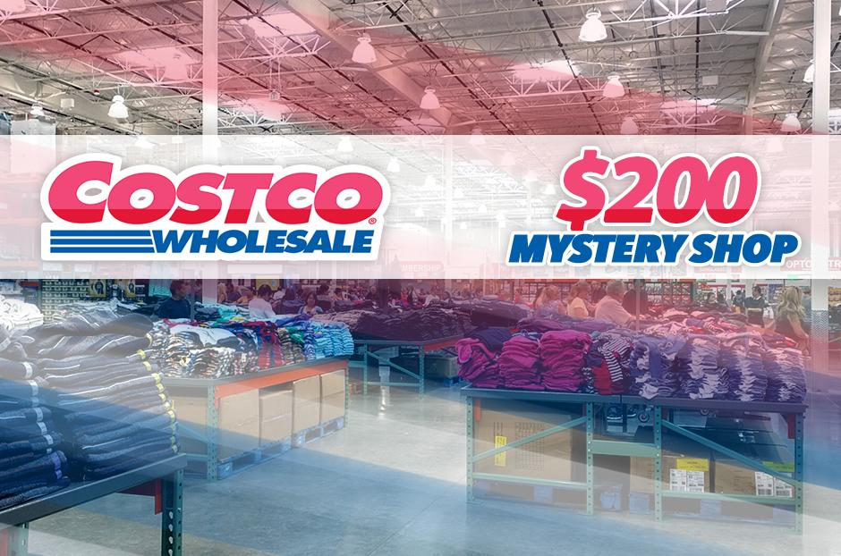 COSTCO Wholesale Mystery Shoppers Wanted!