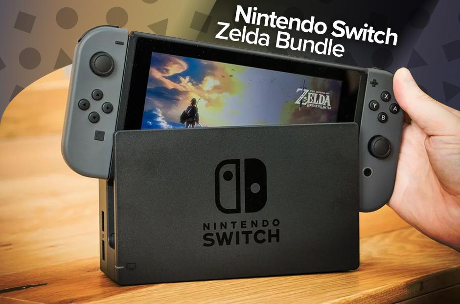 Nintendo Switch Zelda Bundle