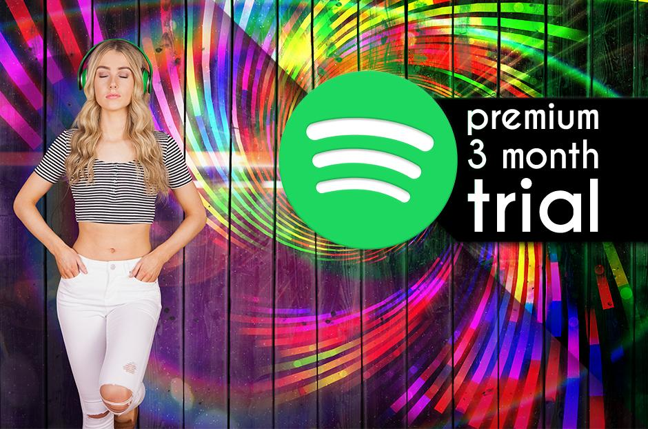 free Spotify Premium 3 Month Trial