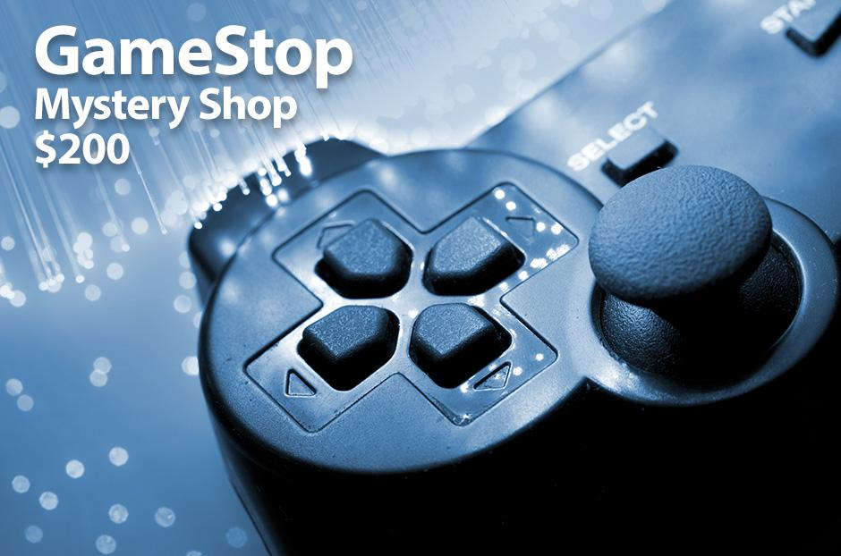 gamestop mystery shopper