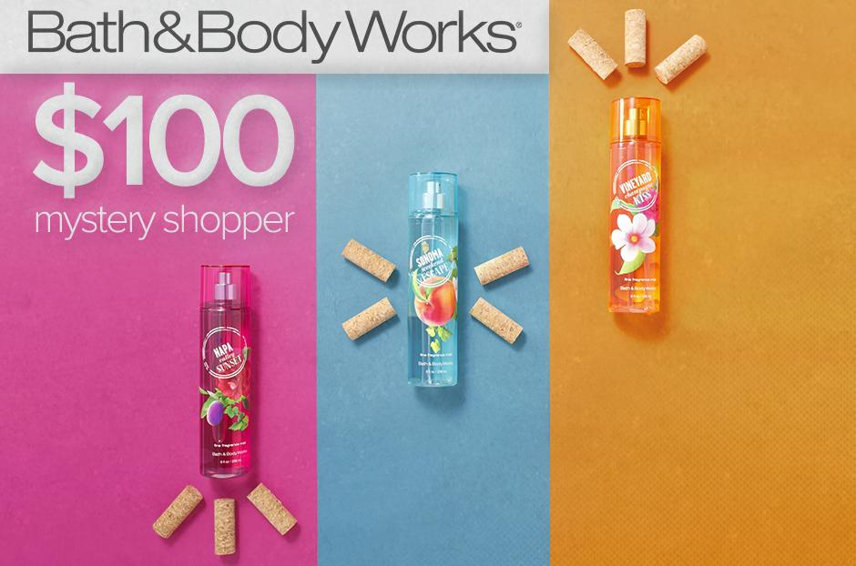 Bath & Bodyworks Mystery Shopper