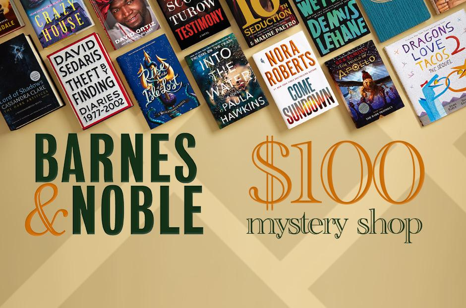 Barnes & Nobles $100 giftcard
