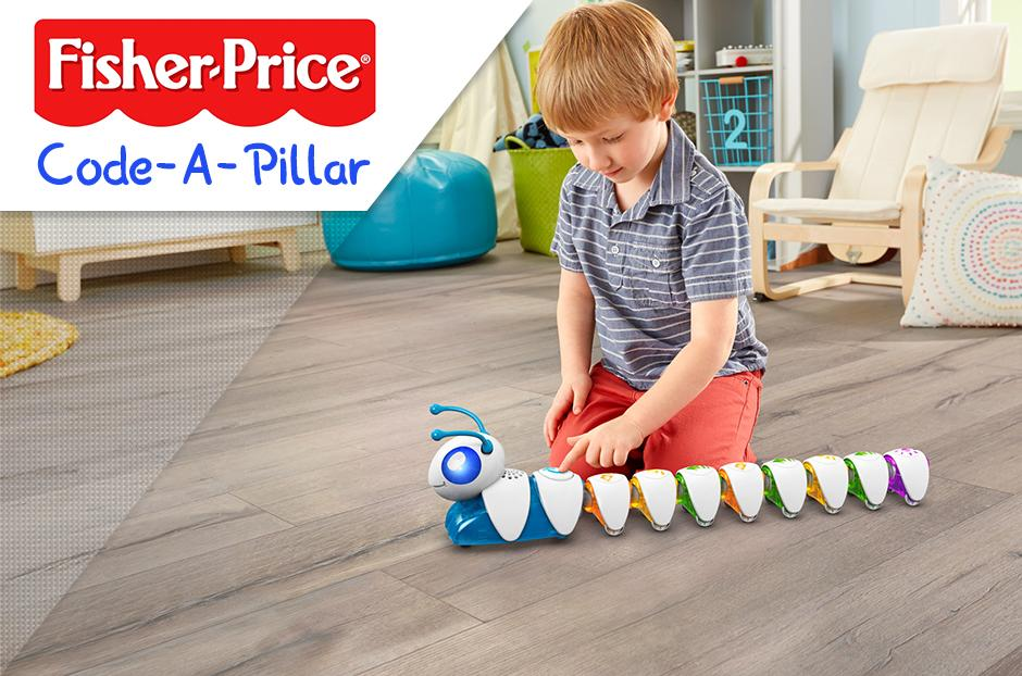 Fisher Price Code a- Pillar