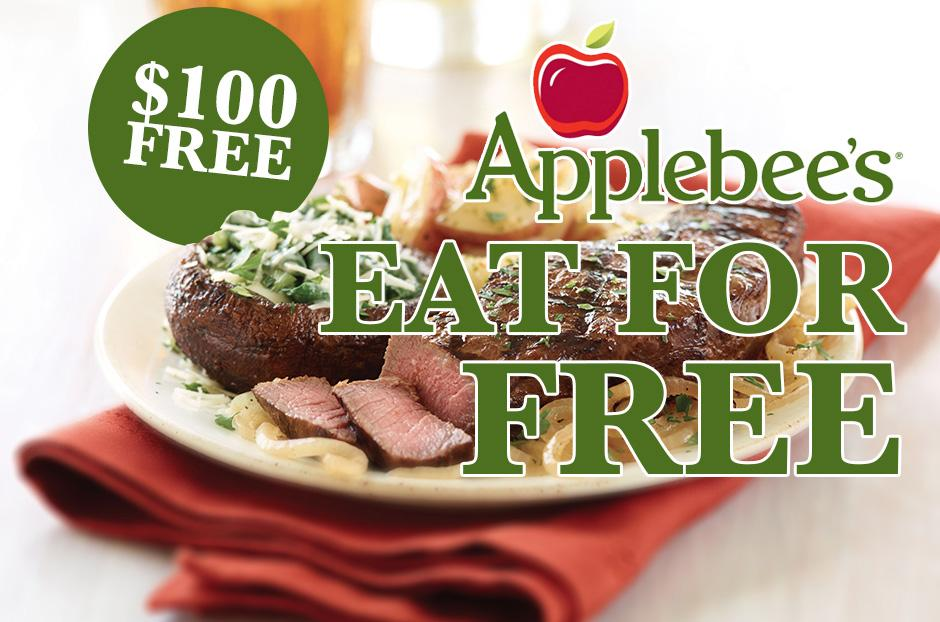 free applebees gift card