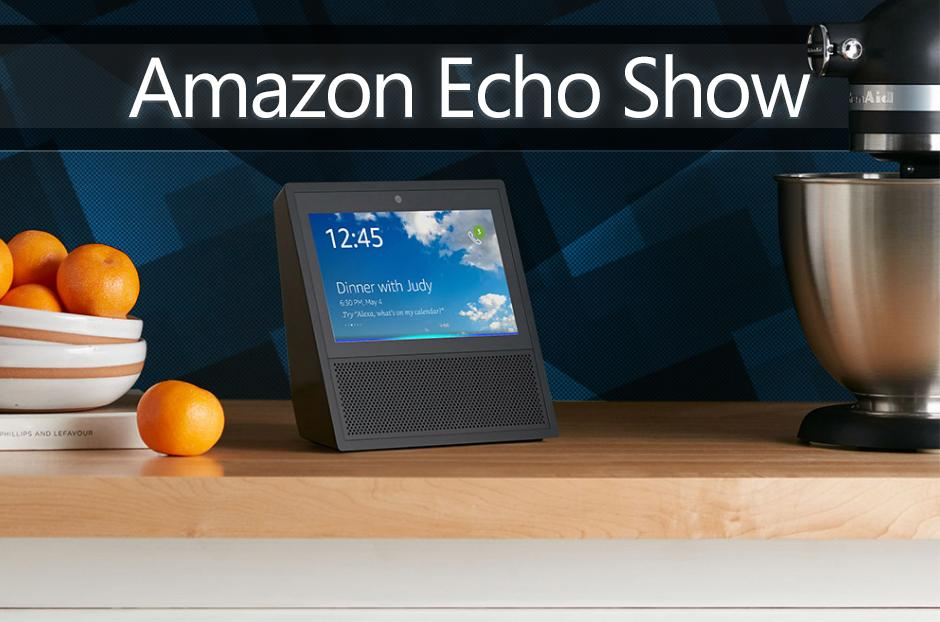 how you can get a free amazon echo show. Black Bedroom Furniture Sets. Home Design Ideas