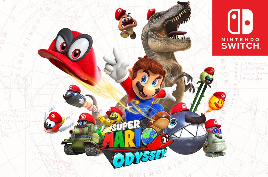 how you can get a free super mario odyssey game