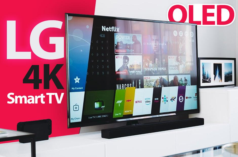 LG ThinQ 4K Oled Smart TV