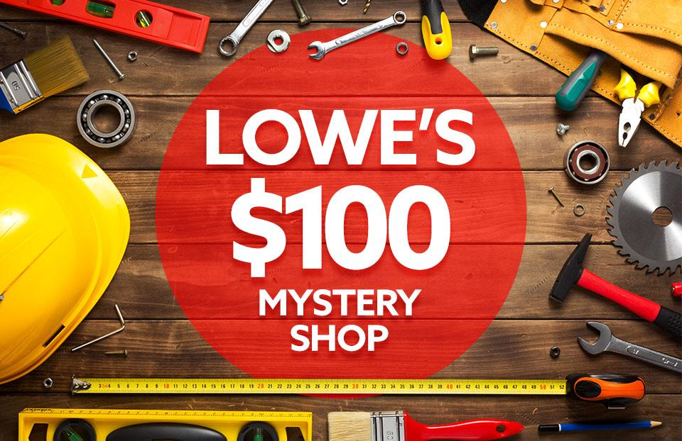Lowes Mystery Shopper