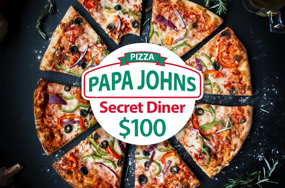 Get a $100 Papa John's Gift Card for Free